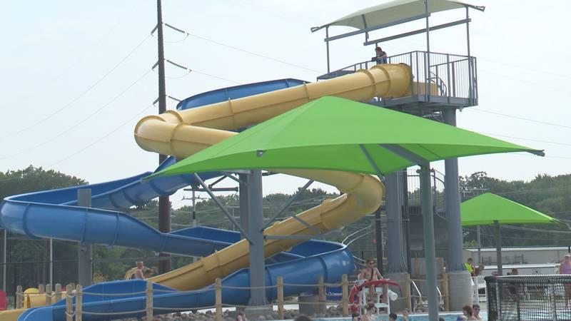 Vandehey Waters Outdoor Aquatic Facility in Marshfield