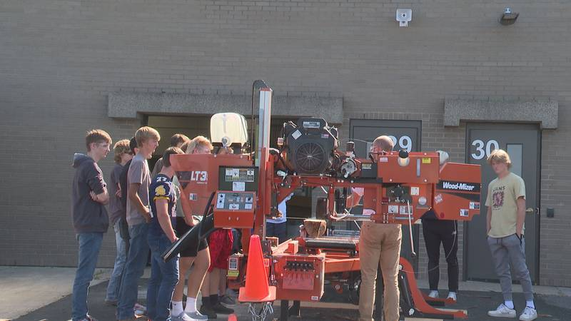 New machine enhances woodworks classes within Wausau School District