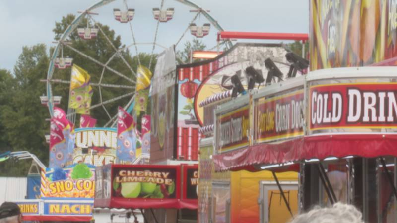 The last day of the Central Wisconsin State Fair in Marshfield.