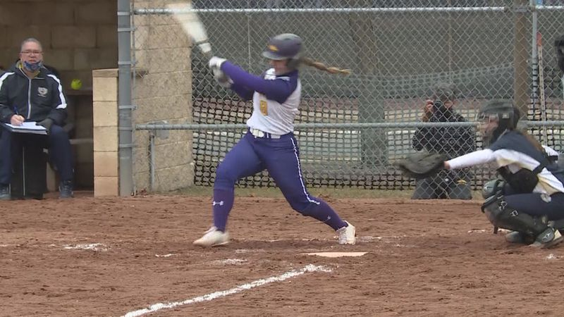 Maddie Candre named WIAC Softball Player of the Year.