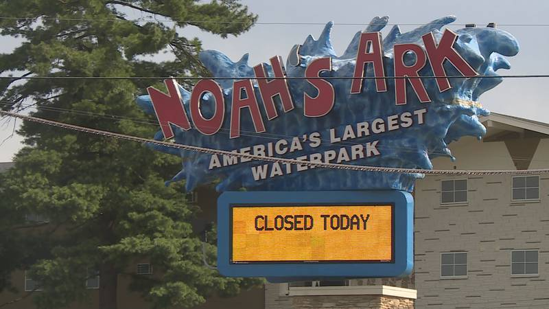 The Wisconsin Dells water park closed Saturday, Aug. 1 after two employees tested positive for...