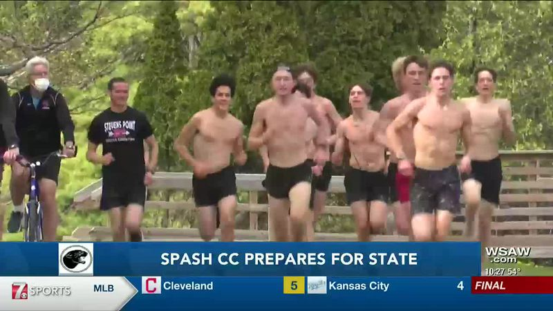 SPASH cross country prepares for state.