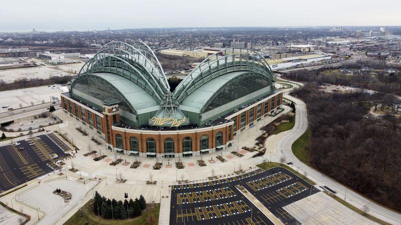 American Family Field, then Miller Park, is seen Thursday, Dec. 17, 2020, in Milwaukee. (AP...