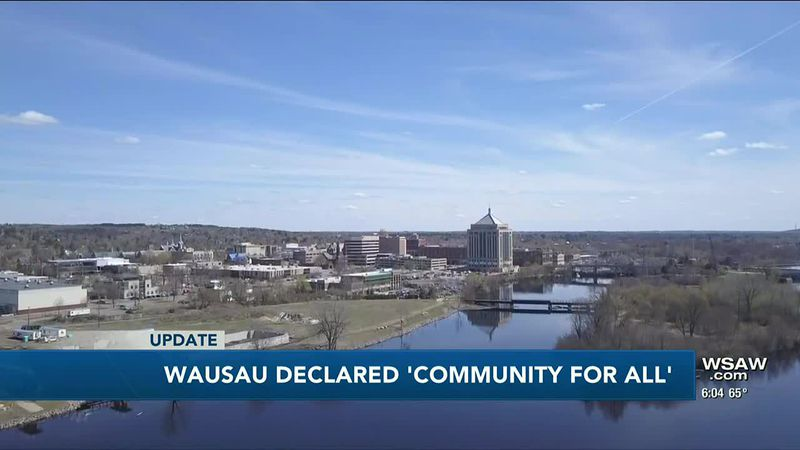 Mayor proclaims Wausau a 'Community for All'