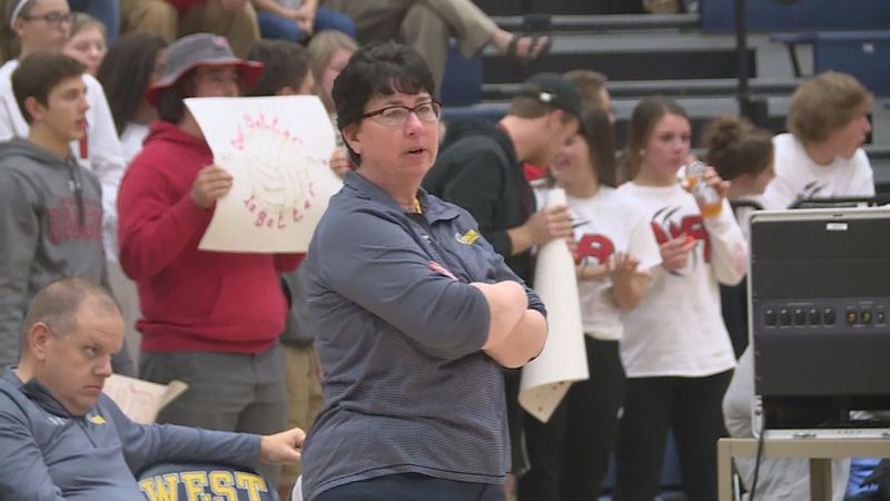 Long time Wausau West volleyball head coach Cathy Newton stepped down on Monday after 36 years...