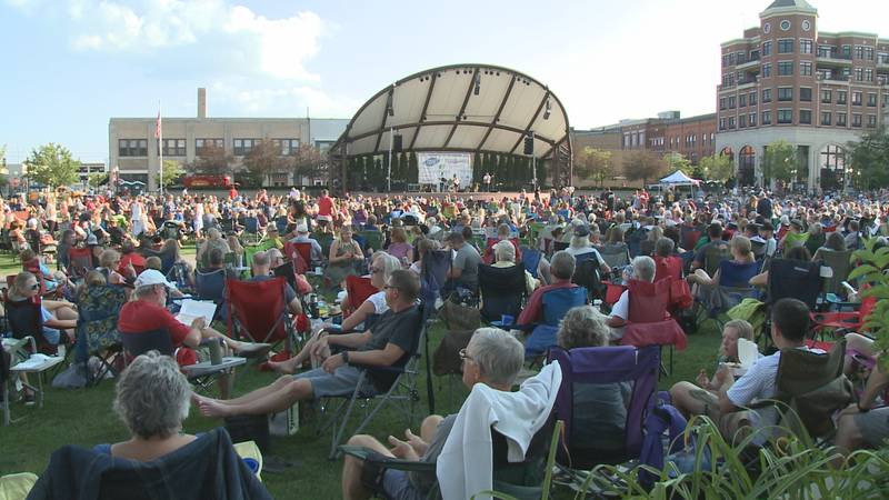 The last Concert on the Square in Wausau creates a large economic impact for local restaurants...