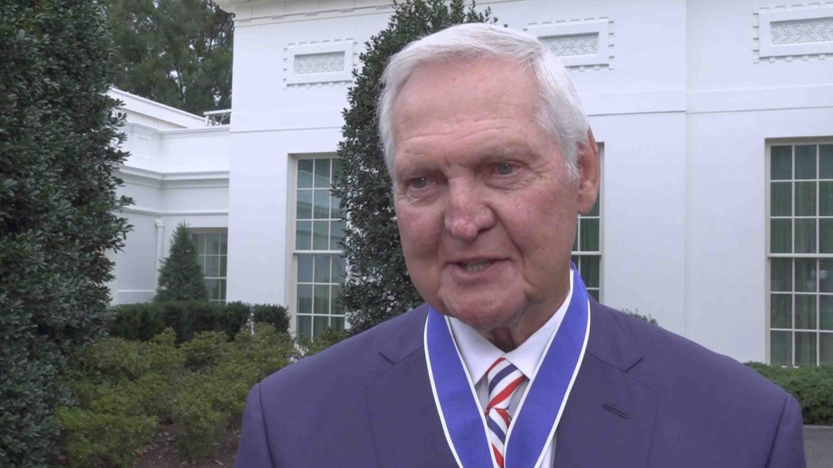 Jerry West discusses the Medal of Freedom and his time at West Virginia University with Gray DC following the ceremony at the White House. (Source: Gray DC)