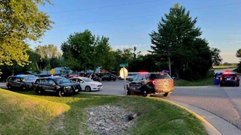 Scene of shooting in Waupaca County