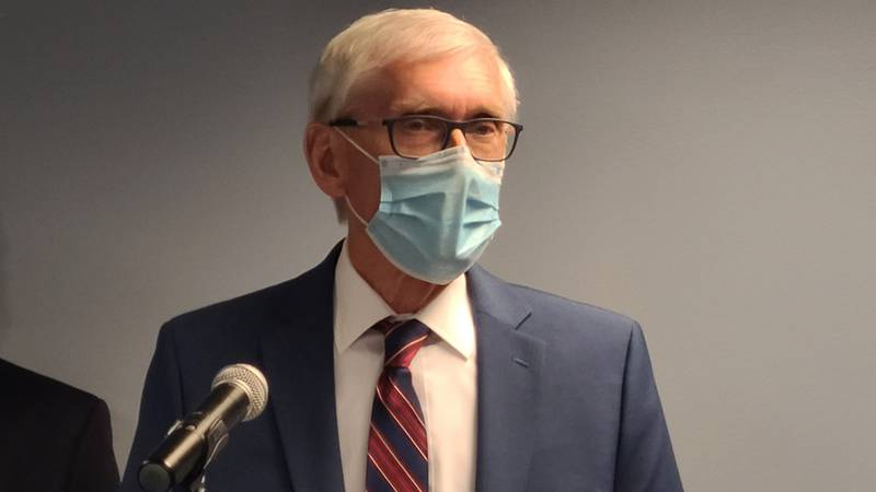Gov. Tony Evers ordered lawmakers into a special session during a news conference on May 19,...