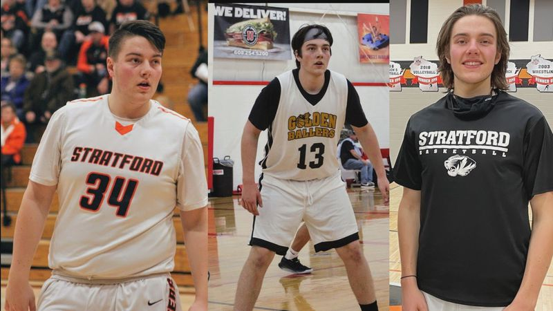 Stratford senior Jacob Skroch's weight loss took him from 270 pounds at his heaviest down to...