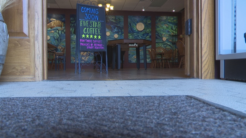 Bull Falls Brewery will complete the coffee shop by mid-February