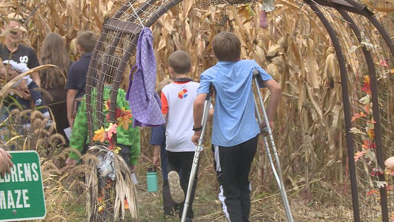 It's the first weekend of fall fun at Willow Springs Garden in Wausau. One volunteer says she's...