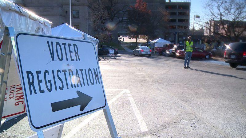Voting in Wisconsin.