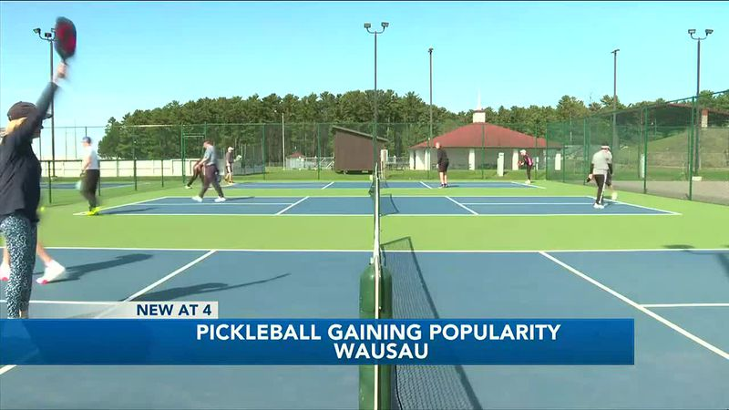 Pickleball becomes popular in our area as people seek outdoor fun