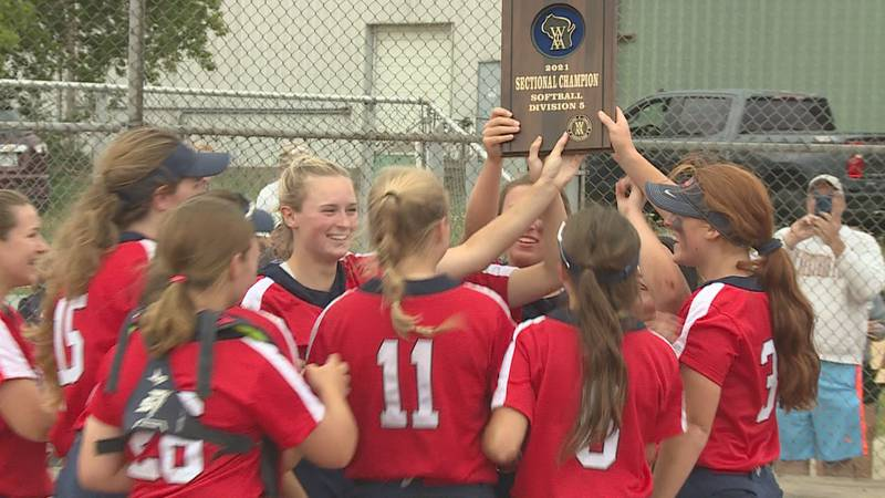 Pacelli took down Laona/Wabeno 2-0 to advance to the WIAA State Softball Tournament in Green Bay.