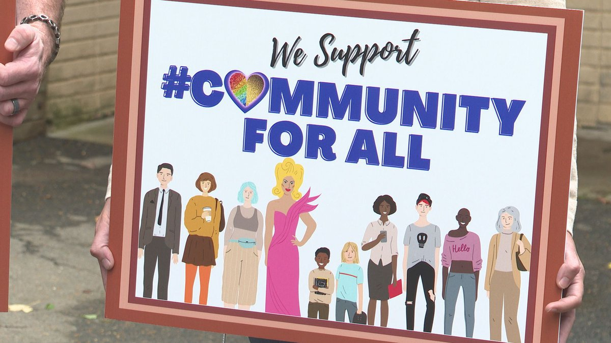 Community for All yard signs