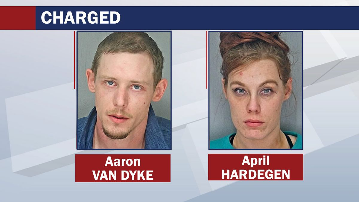 Aaron Van Dyke and April Hardegen are charged with two overdose deaths in Waupaca County in...