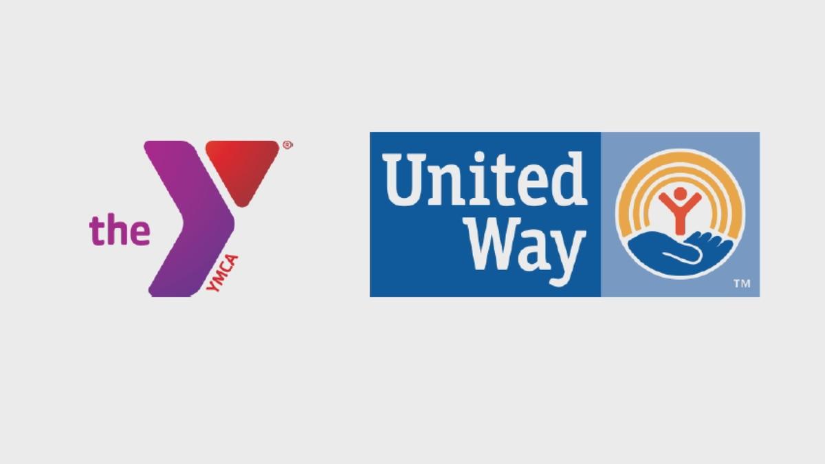 United Way, YMCA logos