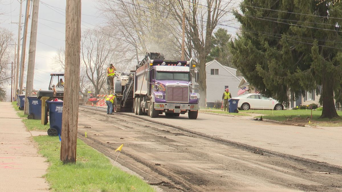 Crews start reconstruction process on North 3rd Ave.