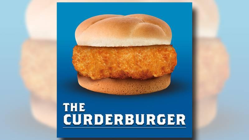 "Culver's ""introduces"" a cheese curd burger as an April Fool's joke."