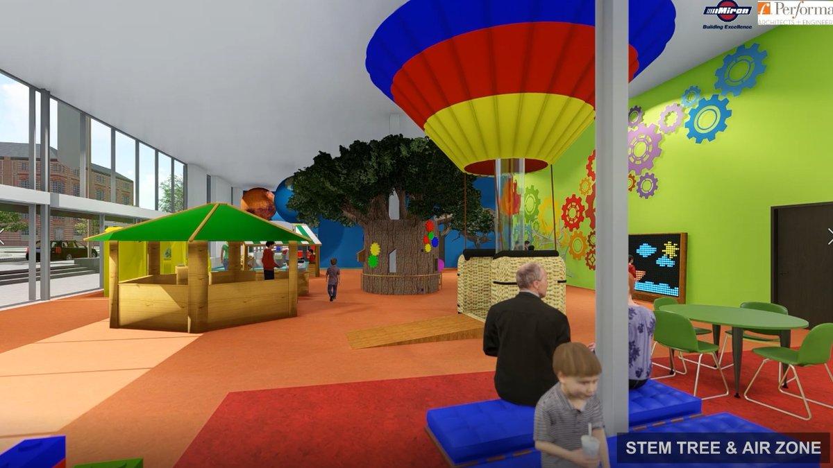 Rendering of Children's Imaginarium
