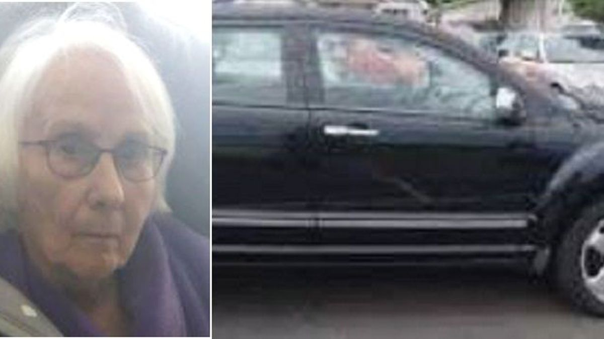 Colleen Soper and an image of the vehicle she was last seen driving in.