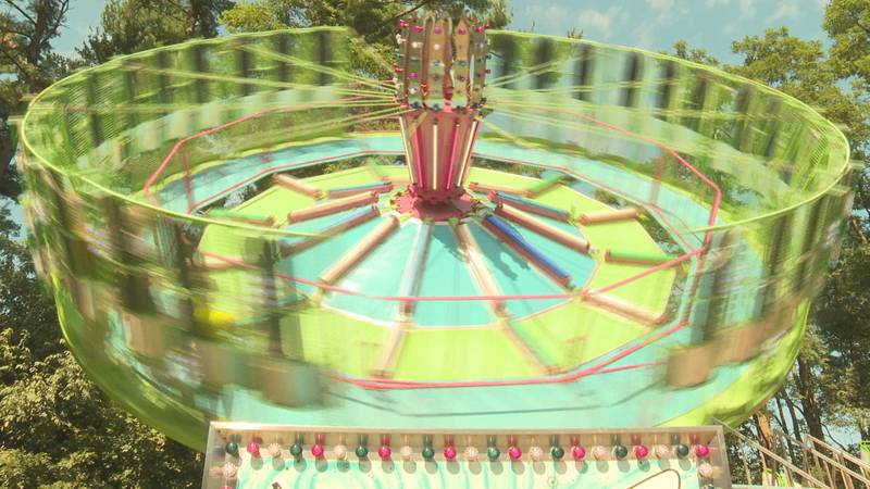 The rides are one of the longstanding traditions of the Portage County Fair.
