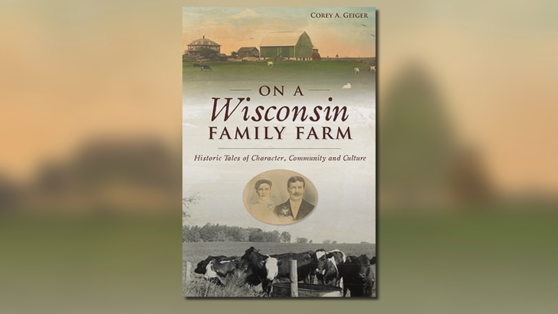 """Corey Geiger credits his grandparents stories for inspiring his new book, """"On A Wisconsin..."""