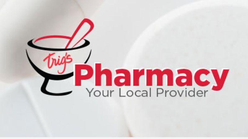Trig's Pharmacy Logo