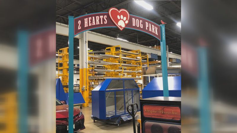 The park set to be named the Two Hearts Dog Park looks to honor Deb Stolzman, a dog lover that...