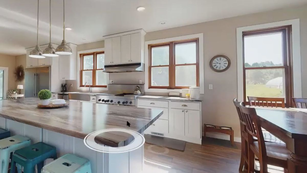 A view from a virtual home tour provided by The Solomon Group. (WSAW photo)