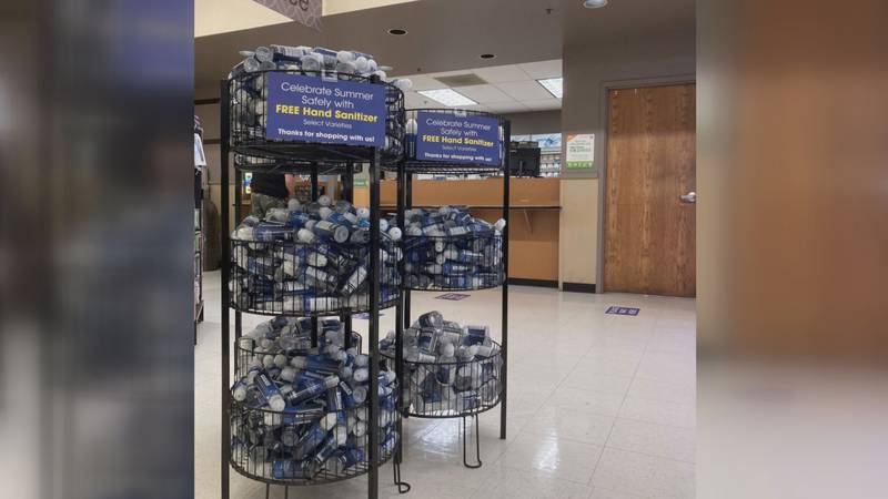 Pick 'n Save and Metro Market offer free hand sanitizer