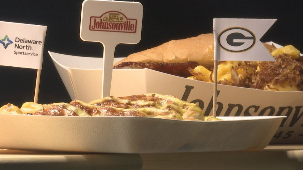Lambeau Field has new concessions for the 2021 season.