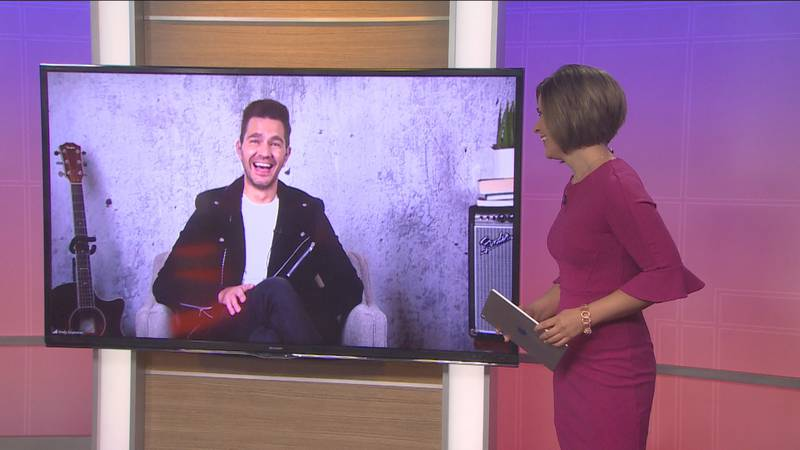 Andy Grammer talks about his partnership with Quaker Chewy