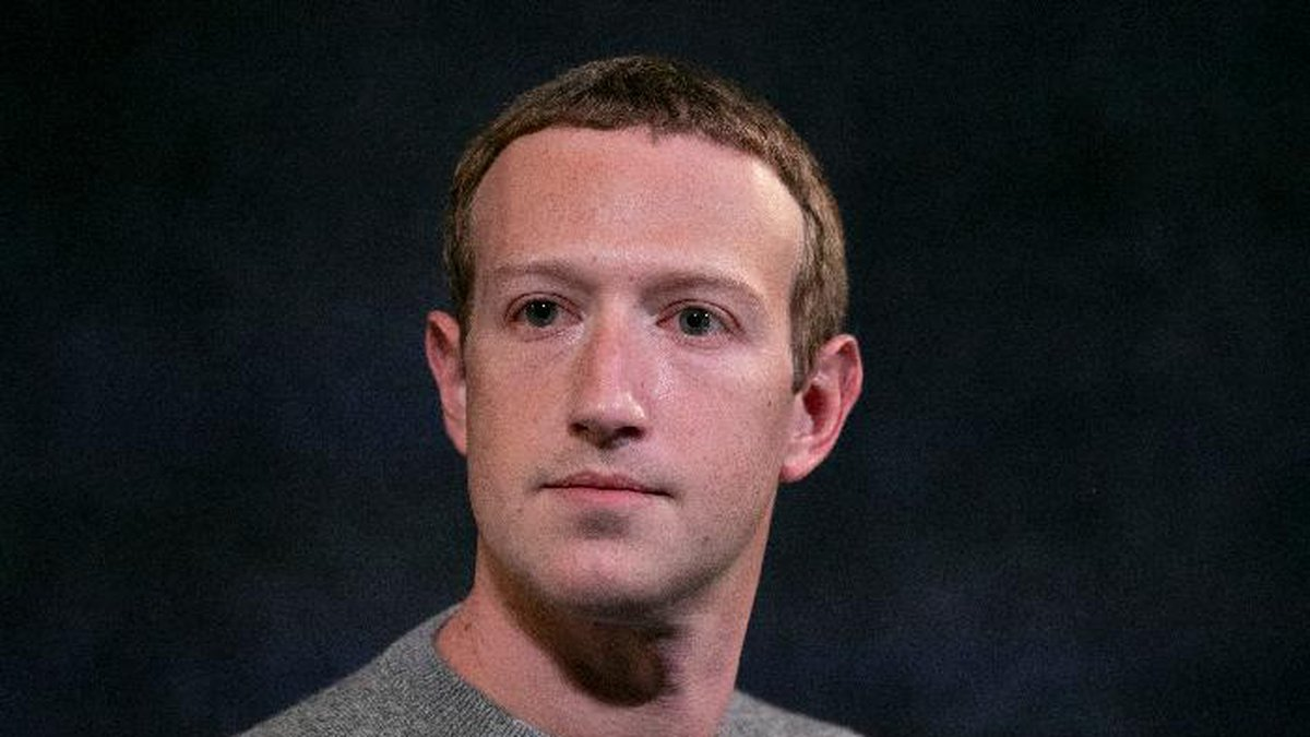 FILE - In this Friday, Oct. 25, 2019, file photo, Facebook CEO Mark Zuckerberg speaks about...