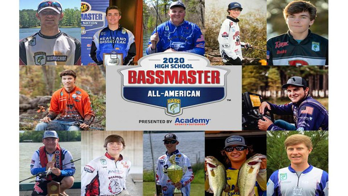 Amherst standout Tyler Cory was named to the 2020 Bassmaster High School All-American Team.