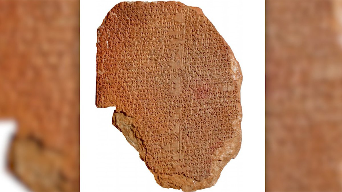 The Gilgamesh Dream Tablet is ordered to be given up by Hobby Lobby.