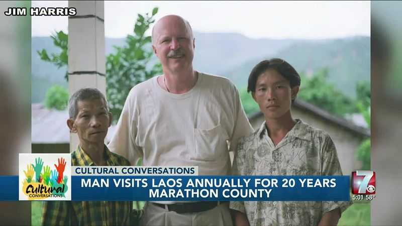Retired principal makes yearly trip to Laos for 20 years