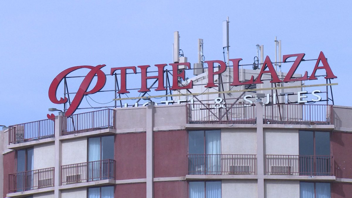 The Plaza Hotel and Suites in Wausau (4/8/20 WSAW photo)