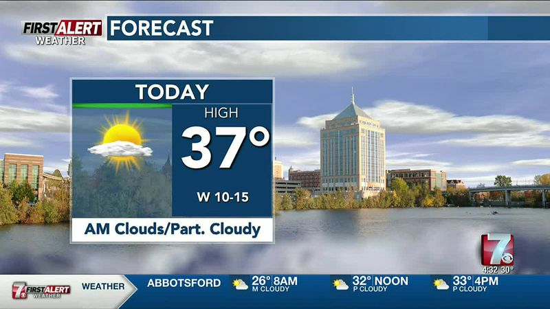 WSAW AM Weather Update 12-3
