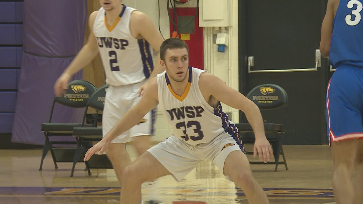 UW-Stevens Point guard and Wisconsin Rapids native Philip Flory in a game for the Pointers on...