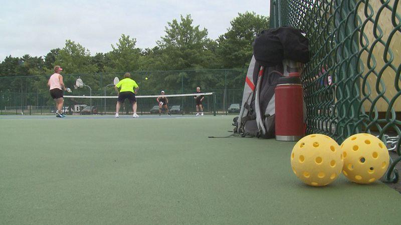 6 new pickleball courts at Marathon Park.