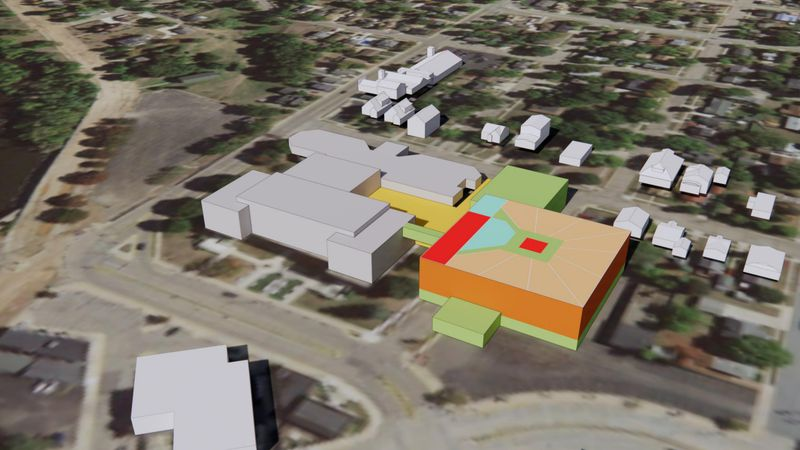 Proposed Wood County Jail