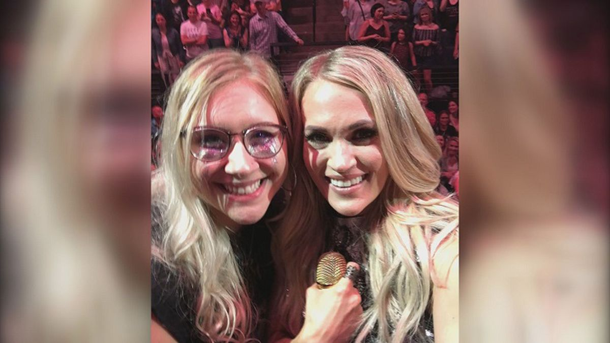 Medford Woman Performs Song With Carrie Underwood