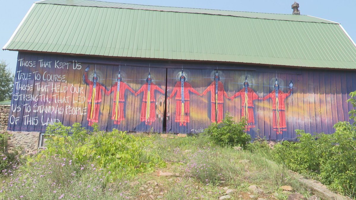 The Seven Sisters mural