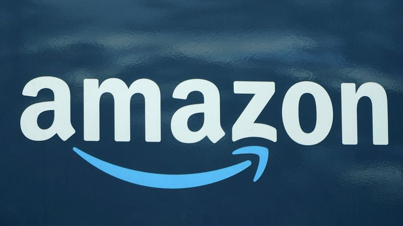 FILE - An Amazon logo appears on an Amazon delivery van, Thursday, Oct. 1, 2020, in Boston....