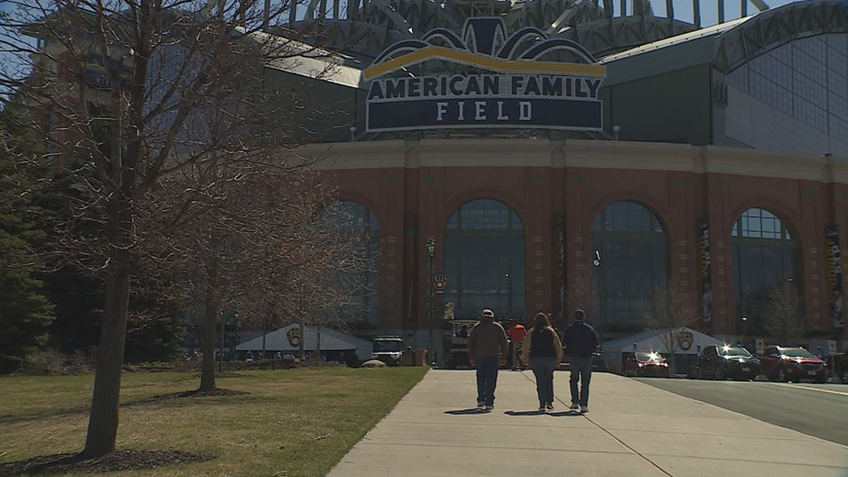 The Brewers welcomed back fans to American Family Field with Covid precautions and a few...