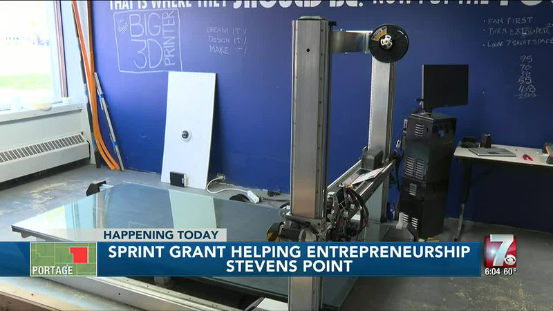Entrepreneurship helped out by funds from SPRINT grant given to Create Portage County