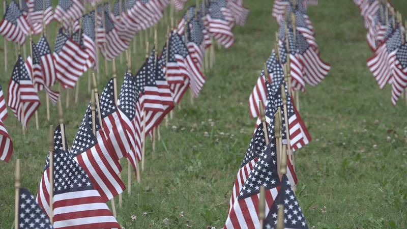 Half of the flags will given to VFW Posts to mark and honor veterans' graves for Memorial Day.