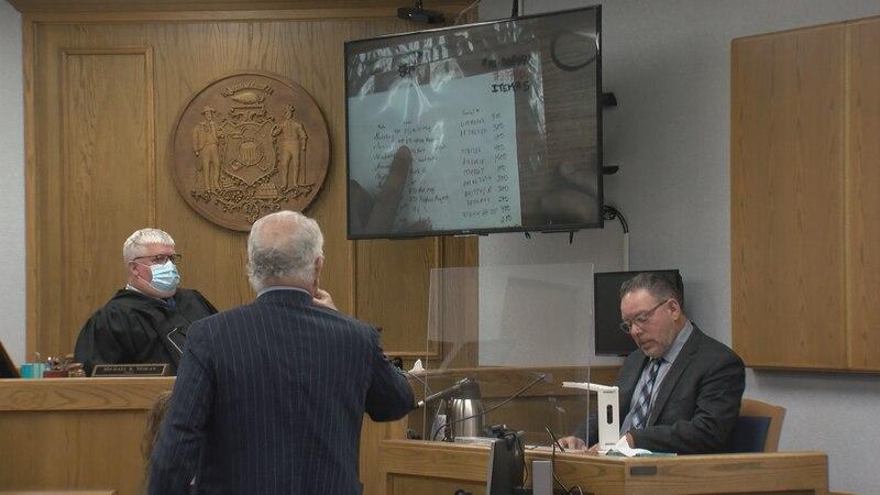 Marathon County Sheriff's Office Capt. Sean McCarthy testifies at Cindy Schulz-Juedes' trial.
